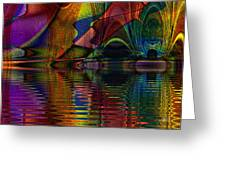 Lake Opalescence Greeting Card
