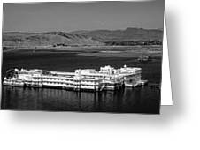 Lake Palace Hotel Greeting Card