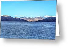 Lake Pangong Greeting Card