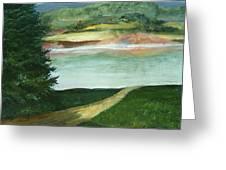 Lake Path Greeting Card