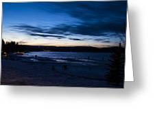 Lake Payette Greeting Card
