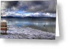 Lake Pend D'oreille At 41 South Greeting Card