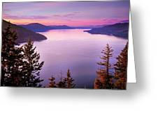 Lake Pend Oreille 2 Greeting Card
