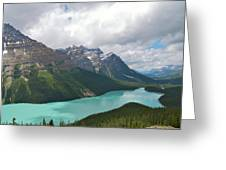 Lake Peyto - Banff National Park Greeting Card