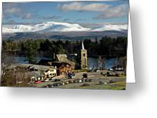 Lake Placid Ny Greeting Card