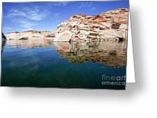 Lake Powell And The Glen Canyon Greeting Card