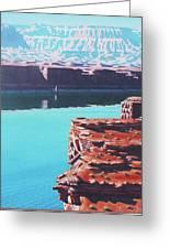 Lake Powell Overlook Greeting Card