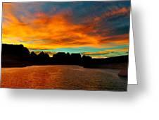 Lake Powell Sunrise Greeting Card