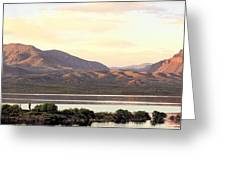 Lake Roosevelt Greeting Card