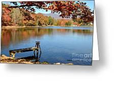 Lake Scene Greeting Card