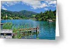 Lake Schliersee Greeting Card