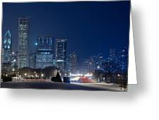 Lake Shore Drive Chicago Greeting Card