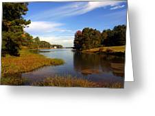 Lake Sinclair Greeting Card
