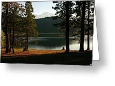 Lake Siskiyou  Greeting Card
