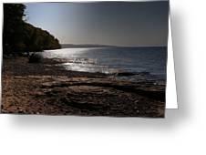 Lake Superior Shore Greeting Card