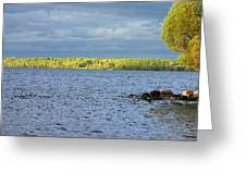 Lake Superior Shoreline After A Brief Storm Greeting Card