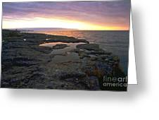 Lake Superior Sunrise Greeting Card