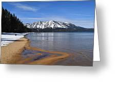 Lake Tahoe Greeting Card