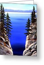 Lake Tahoe Framed Greeting Card