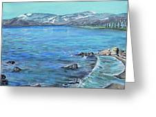 Lake Tahoe From Kings Beach California Greeting Card