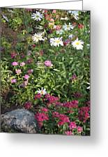 Lake Tahoe Garden Greeting Card
