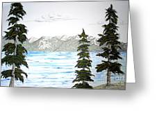 Lake Tahoe In Summer Greeting Card