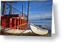 Lake Tahoe Low Water Greeting Card