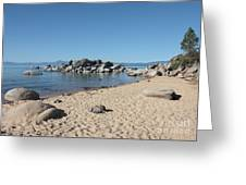 Lake Tahoe Morning Greeting Card