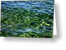 Lake Tahoe Swirls Greeting Card