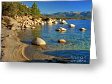 Lake Tahoe Tranquility Greeting Card by Scott McGuire