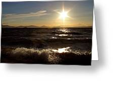 Lake Taupo New Zealand Greeting Card