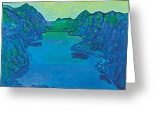 Lake Thun Greeting Card