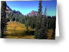 Lake Tipsoo Greeting Card