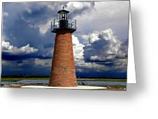 Lake Toho Lighthouse 002  Greeting Card