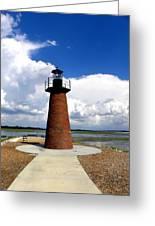 Lake Toho Lighthouse Greeting Card