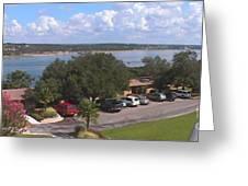 Lake Travis Merge II Greeting Card