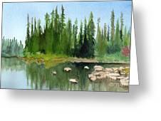 Lake View 1 Greeting Card