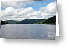 Lake Vyrnwy 2 Greeting Card