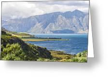 Lake Wakatipi Greeting Card