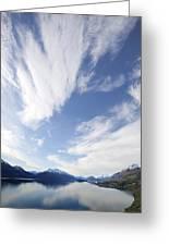 Lake Wakatipu Sky Greeting Card by Barry Culling