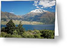 Lake Wanaka New Zealand Iv Greeting Card
