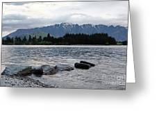 Lake Wanaka,queenstown, New Zealand Greeting Card