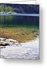 Lake Washington  Greeting Card