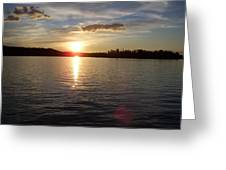Lake Wilson Sunset Greeting Card