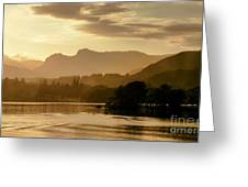 Lake Windermere Two Greeting Card
