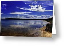 Lake Wollumboola Memories  Greeting Card
