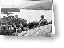 Lakes Of Killarney - Ireland - C 1896 Greeting Card