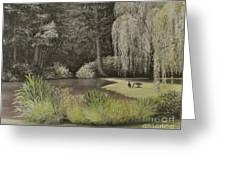 Lakeside At Mountain Playhouse Greeting Card