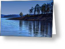Lakeside-beavers Bend Oklahoma Greeting Card