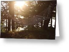 Lakeside Hammock Greeting Card